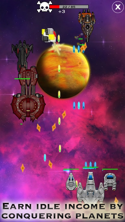 Click and Conquer: Space Age - Idle Shooter