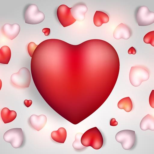 Valentine's Days Love Sticker