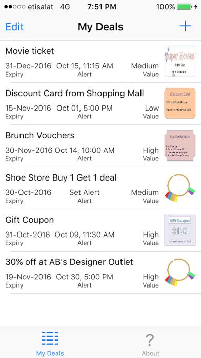 My Deal Alert screenshot one