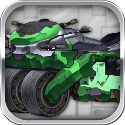 D-Bringer MotorCycle:Robot Triple-form mini-Games