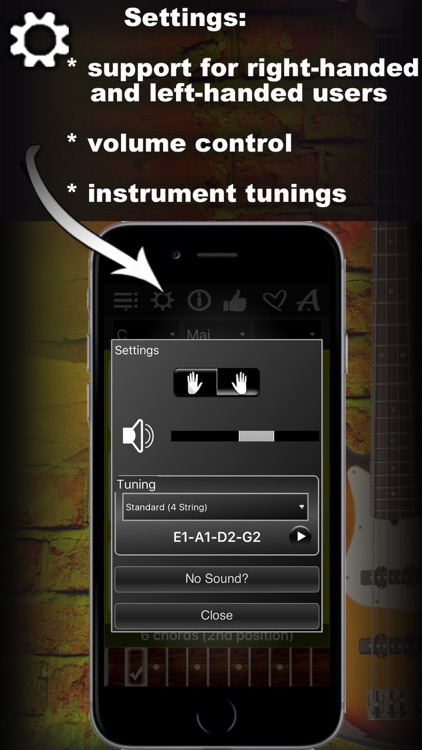 Bass Chords Compass - learn & play chord charts screenshot-4
