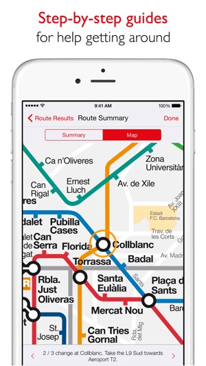 Karta Barcelona Metro.Barcelona Metro Tmb Map On The App Store