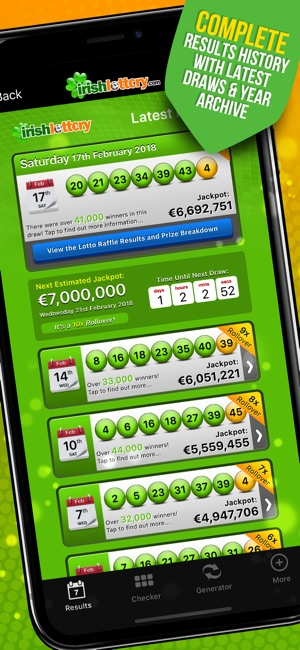 Irish Lottery on the App Store