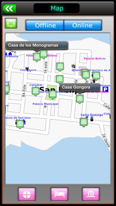 Panama Offline Map Travel Guide screenshot two