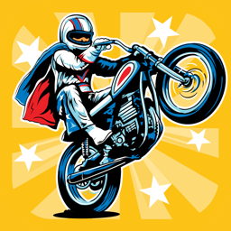 Ícone do app Evel Knievel