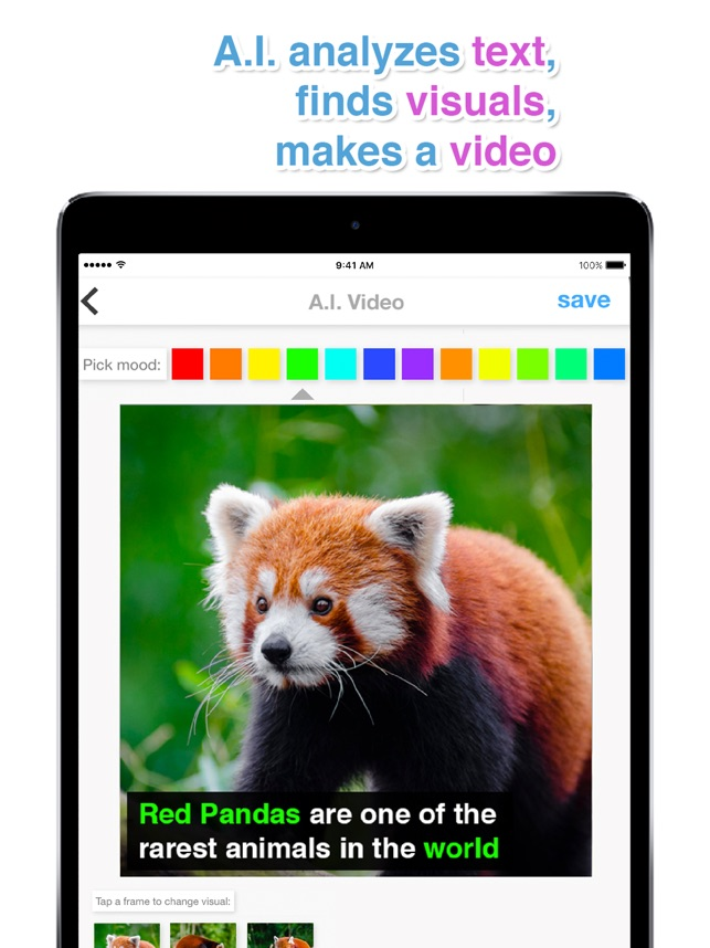 AutoVideo - Text to Video Screenshot