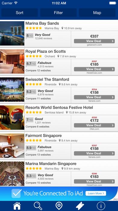 Las Vegas Hoteles + Compara y Reserva de hotel para esta noche con el mapa y viajes turísticosCaptura de pantalla de3