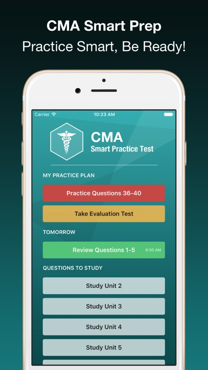 CMA Smart Exam Prep PLUS - Medical Assistant Test screenshot-3