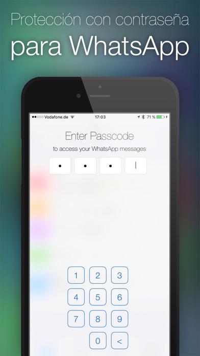 Screenshot for Contraseña para WhatsApp in Peru App Store