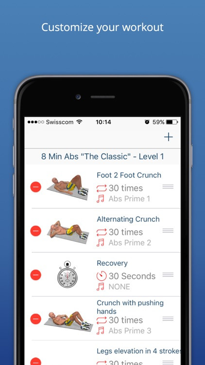 Abs Workout - Daily Fitness Routines for a Quick Six Pack Muscle screenshot-3