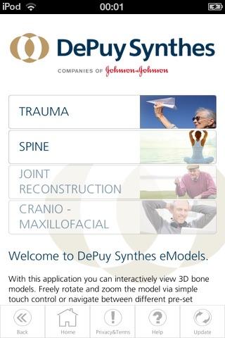 DePuy Synthes eModels - náhled