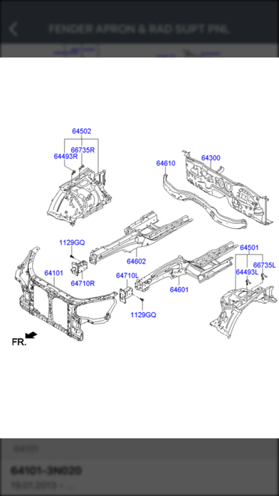 Hyundai Car Parts - ETK Parts Diagrams iphone ekran görüntüleri