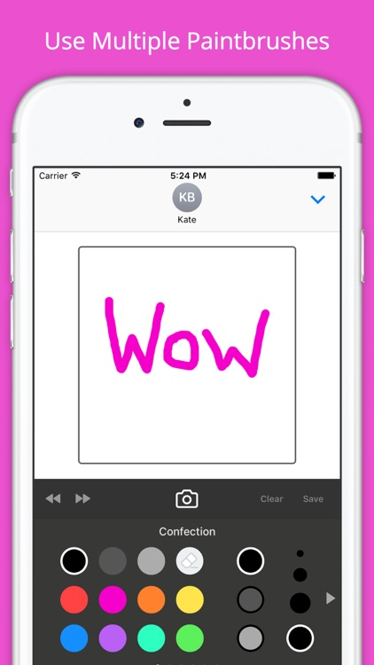 Sticky Fingers: Draw Your Own iMessage Stickers