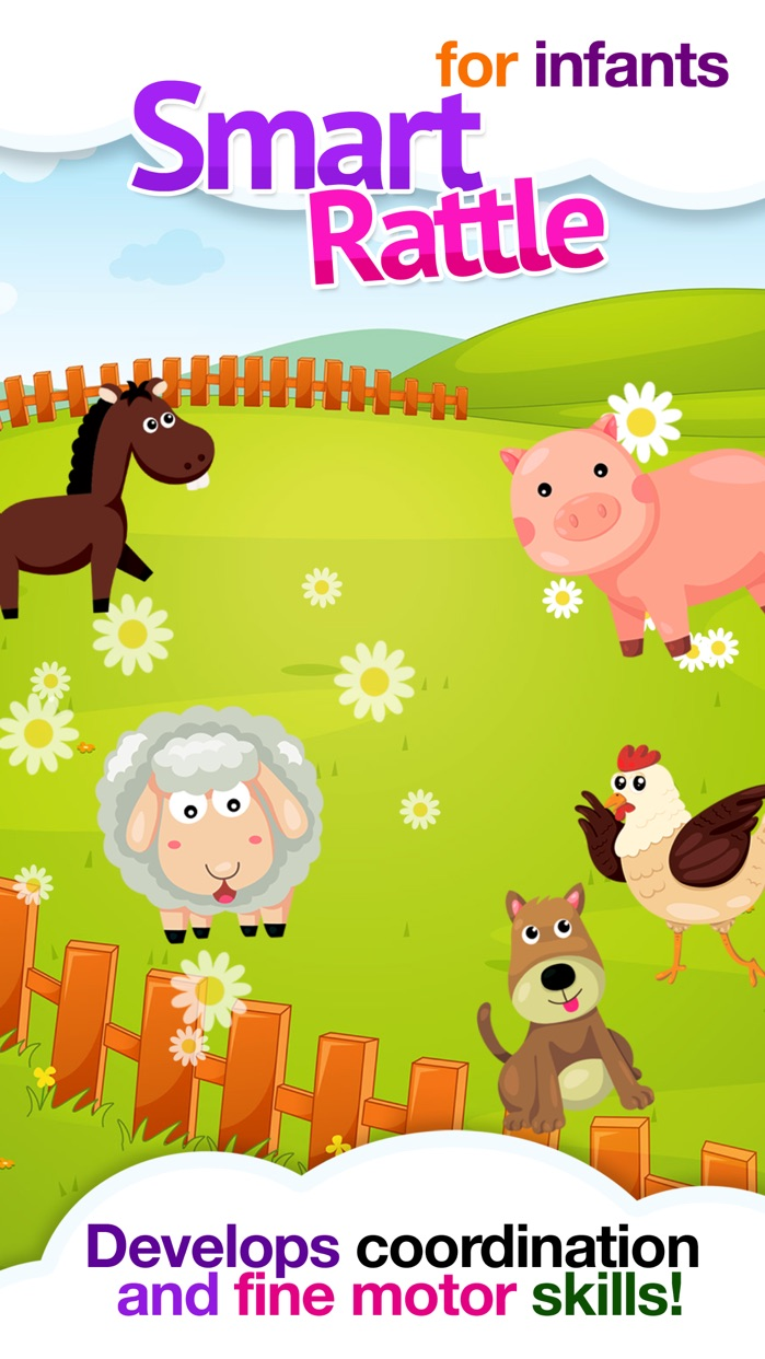 Baby Rattle Games: Infant & Toddler Learning Toy Screenshot