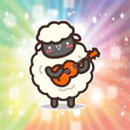 Funny interesting sheep animated - Fx Sticker