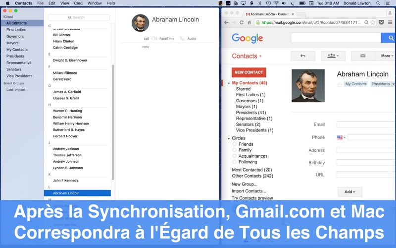 6 codes à gagner pour Contacts Sync For Google Gmail-capture-4