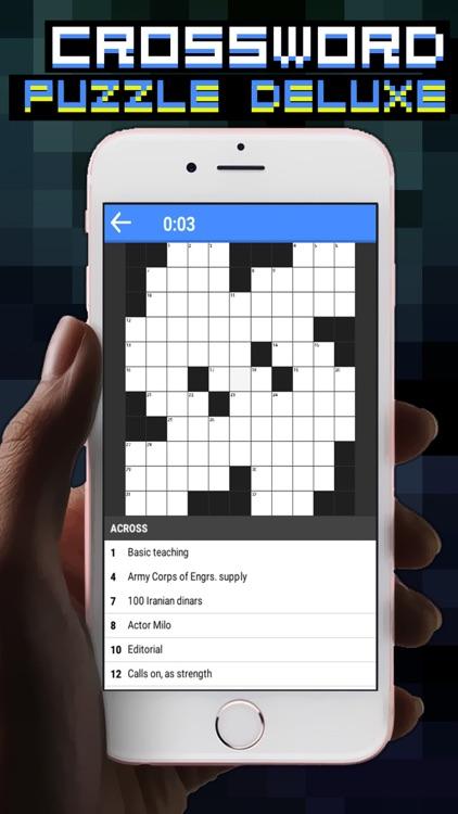 CROSSWORD PUZZLE DELUXE screenshot-3