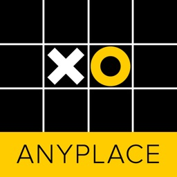 Anyplace Tic Tac Toe. Noughts and crosses game.