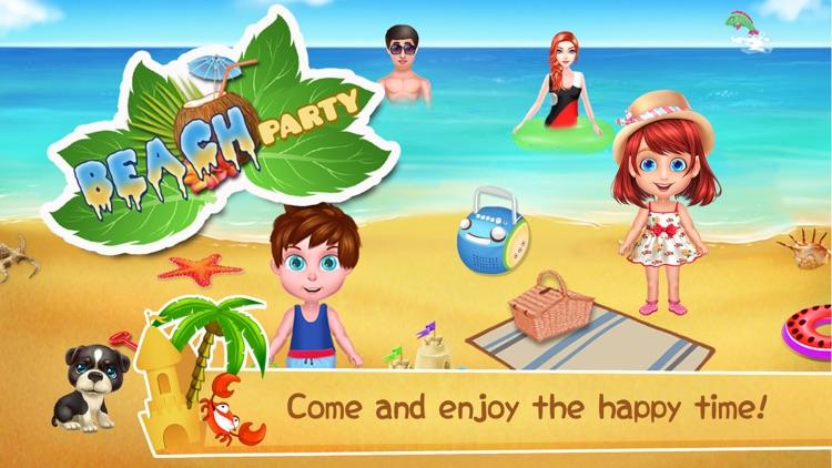 Beach Party-uncle bear screenshot-0