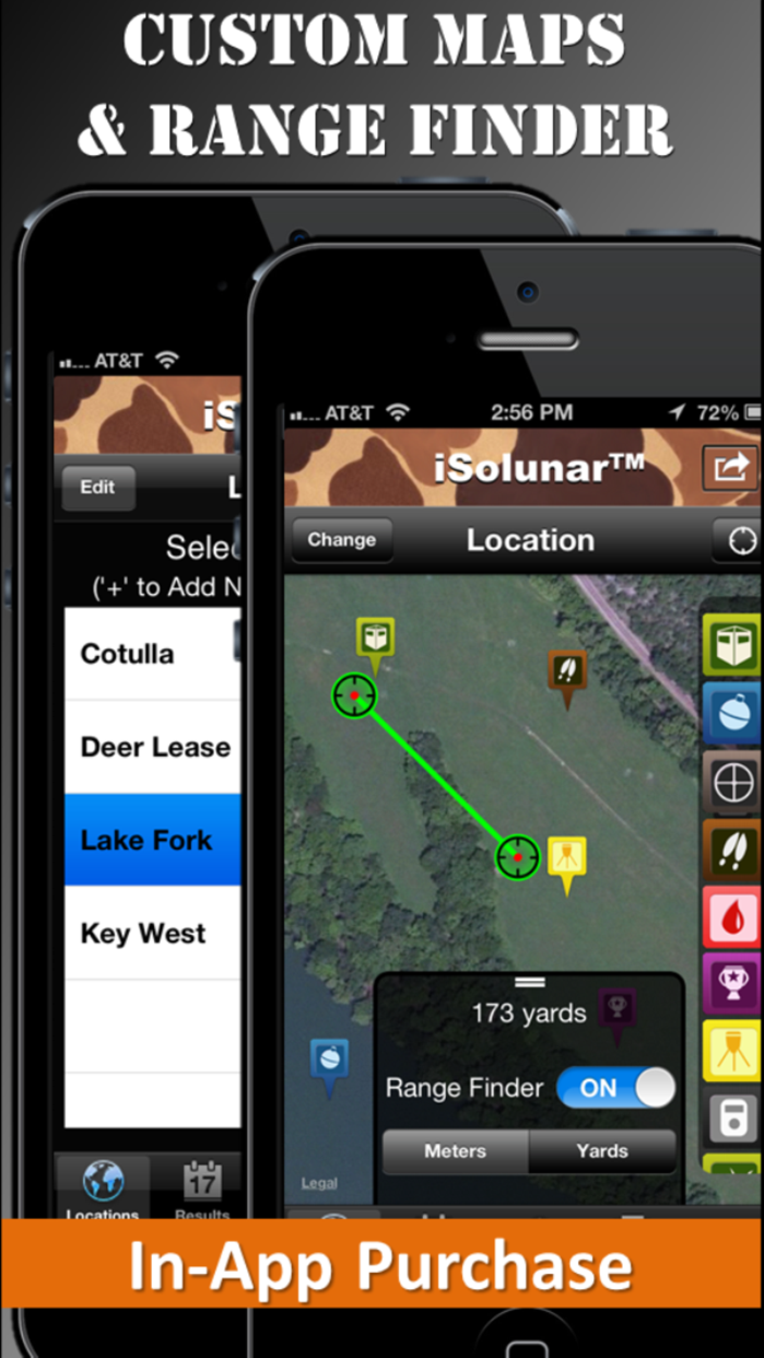 iSolunar™ Hunting & Fishing Times Free Screenshot
