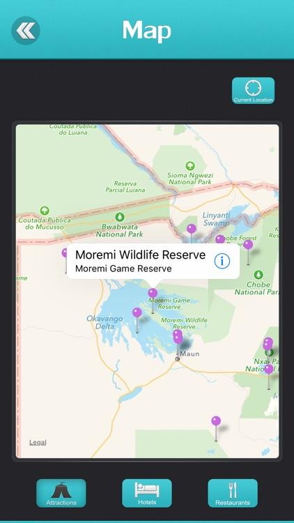Moremi Game Reserve Travel Guide screenshot-3