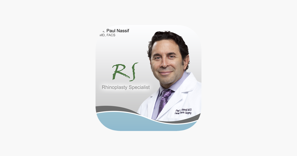 Dr  Nassif Rhinoplasty and Cosmetic Surgery on the App Store