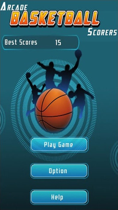 バスケットボールの3次元フリーバスケットボールシューティングゲームのおすすめ画像2