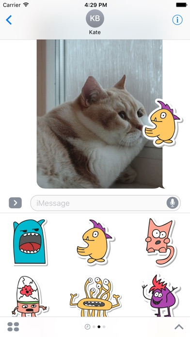 Monster Message Stickers