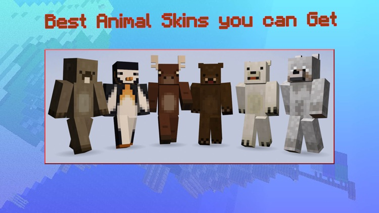 Animal Skins for Minecraft PE - Cape Skins MCPE