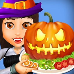 Halloween Food Court Fever - Master-Chef burger