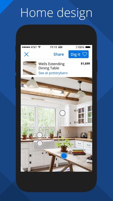 Zillow Digs - Home Design and Paint Visualizer Screenshot