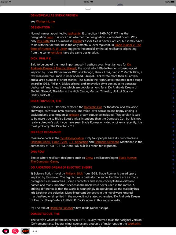 Blade Runner Messages screenshot 6