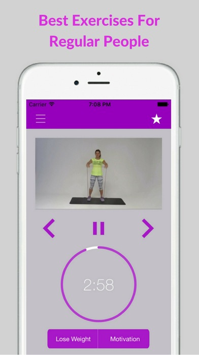 Resistance Band Workout Trainer Exercises Training screenshot three