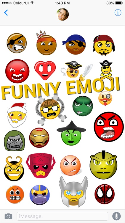 Emojis & Stickers For iMessage App