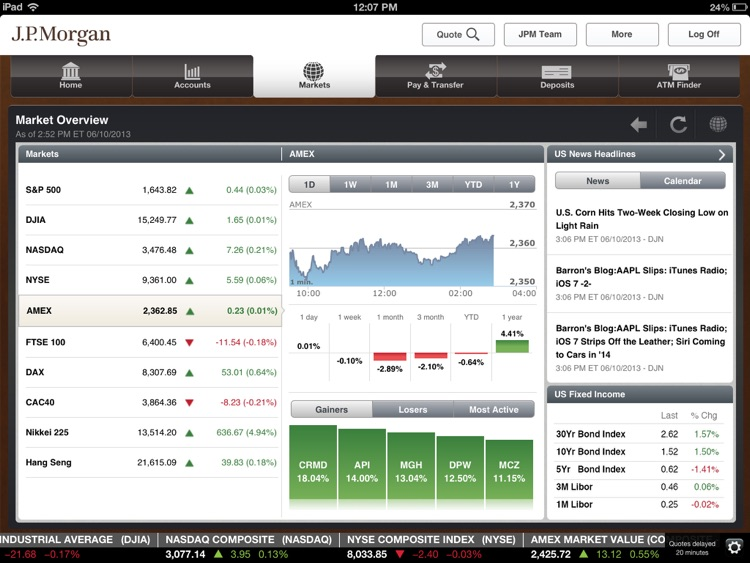 J.P. Morgan Mobile (SM) screenshot-3