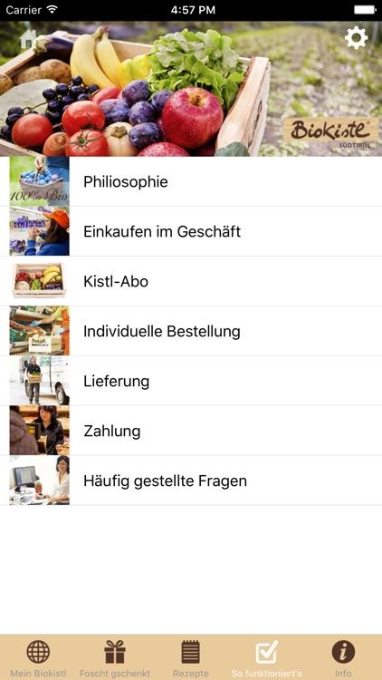 Biokistl screenshot-3