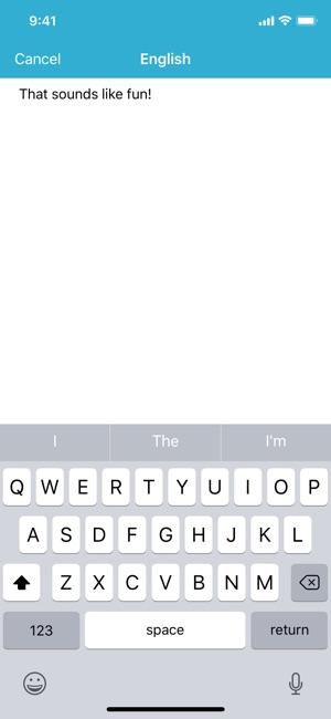Sayhi translate on the app store stopboris Choice Image