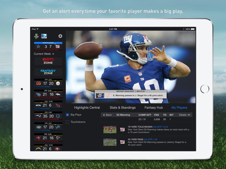 NFL Sunday Ticket for iPad screenshot-3