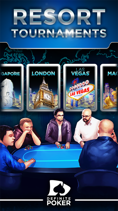 Definite Poker™ - Texas Holdem screenshot two