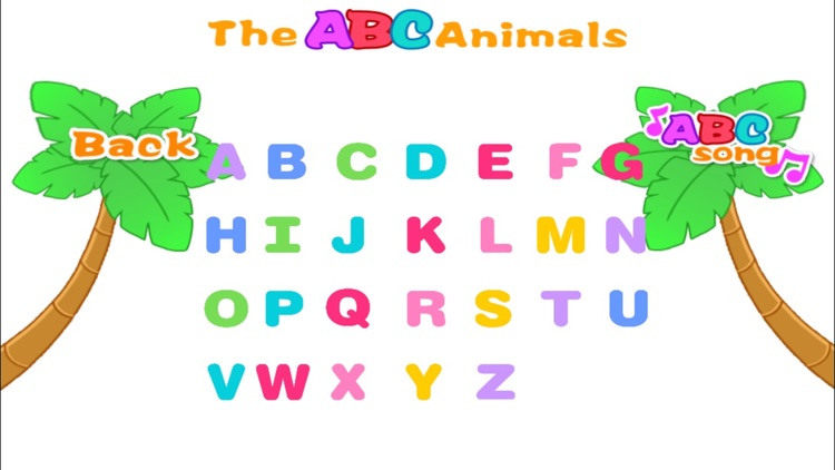 Alphabet ABC Song and Animals screenshot-3