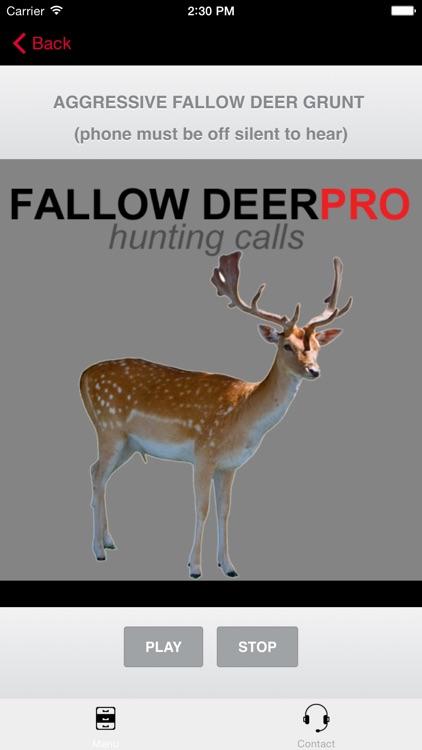 REAL Fallow Deer Calls - Deer Grunt & Deer Bark - BLUETOOTH COMPATIBLE
