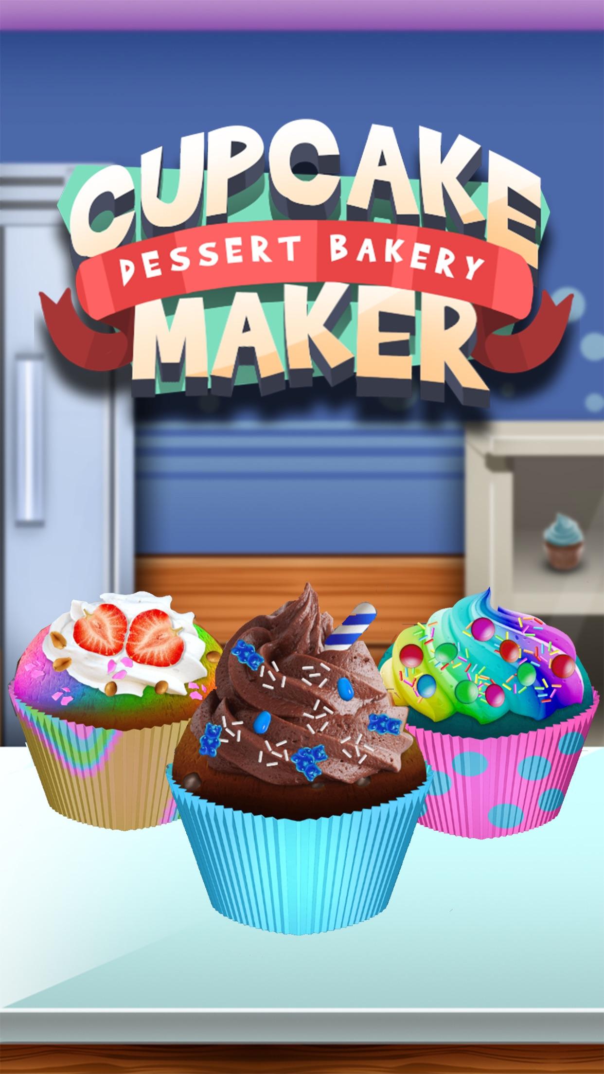 Awesome Ice Cream Cupcake Maker - Baking Dessert Screenshot
