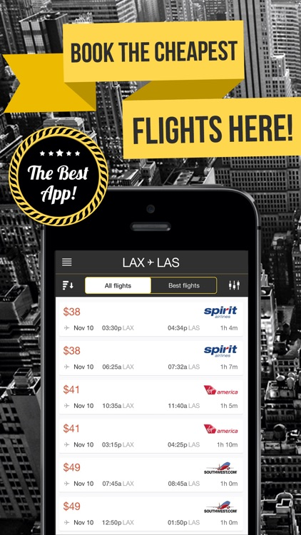 Last Minute - Best Airfare Deals! Search Cheap Flights 729 Airlines screenshot-3
