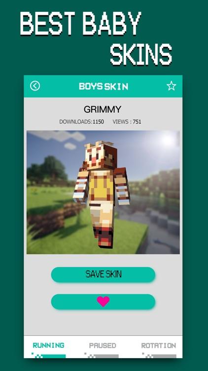 Baby Skins - Aphmau & FNAF Daycare Minecraft PE
