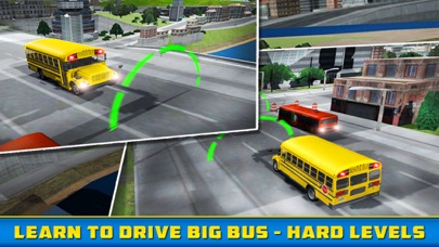 School Bus Driver - Pick & Drop 3D Simulator Game screenshot three