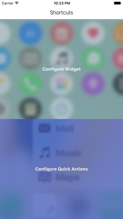Shortcuts+ (Quick Open)
