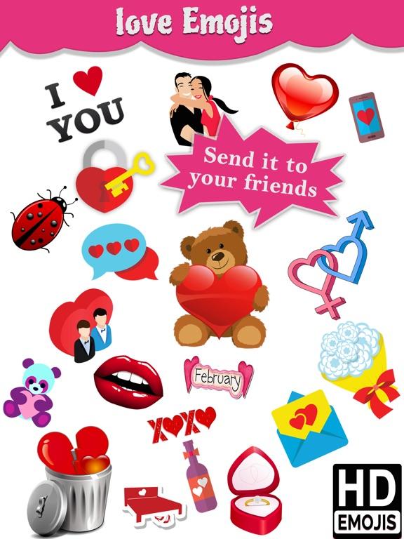 Télécharger Love Emoji Icons & Romantic Emoticons pour