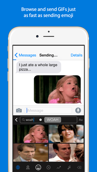 Screenshot for GIF Keyboard in Switzerland App Store
