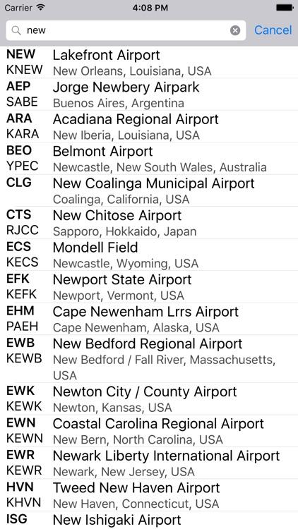 airport codes by versaedge software llc