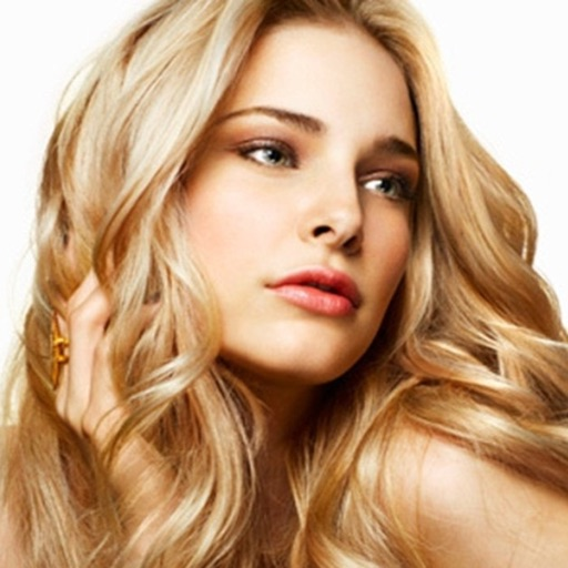 Blonde Hairstyles, Salon Style Hair Cut Makeover